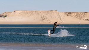 kitesurf darkslide à dakhla