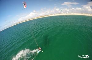 kitesurf vue du ciel