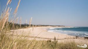 plage de cabedelo au Portugal
