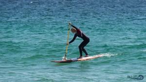sur le paddle